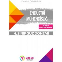 Auzef  ( uzaktan linsans tamamlama ) Endüstri Mühendisliği  4. Sınıf (Güz Dönemi) Ders Kitapları