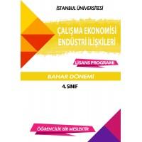 Auzef Çalışma Ekonomisi Ve Endüstri İlişkileri 4. Sınıf 8. Dönem (Bahar Dönemi) Ders Kitapları (6 kitap set fiyatı)