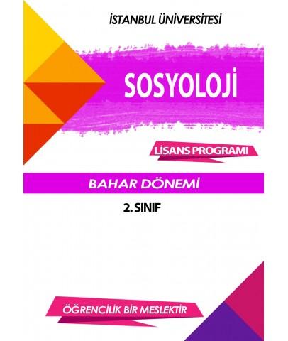 Auzef Sosyoloji 2. Sınıf 4. Dönem (Bahar Dönemi) Ders Kitapları (6 kitap set fiyatı)