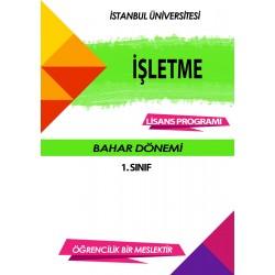 Auzef İşletme 1. Sınıf 2. Dönem (Bahar Dönemi) Ders Kitapları (7 kitap set fiyatı)