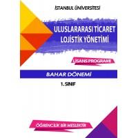 Auzef Uluslararası Ticaret ve Lojistik Yönetimi 1. Sınıf 2. Dönem (Bahar Dönemi) Ders Kitapları (7 kitap set fiyatı)