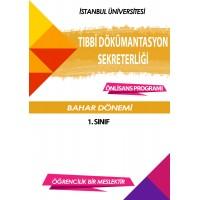 Auzef Tıbbi Dokümantasyon Ve Sekreterlik 1. Sınıf 2. Dönem (Bahar Dönemi) Ders Kitapları