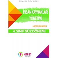 Auzef  insan Kaynakları Yönetimi 4. Sınıf (Güz Dönemi) Ders Kitapları