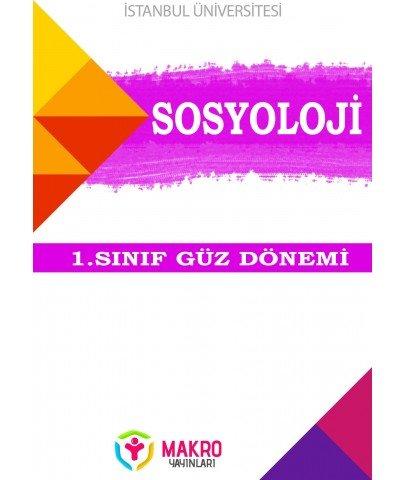 Auzef Sosyoloji 1. Sınıf (Güz Dönemi) Ders Kitapları