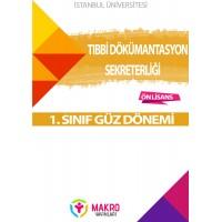 Auzef Tıbbi Dokümantasyon Ve Sekreterlik 1. Sınıf  (Güz Dönemi) Ders Kitapları