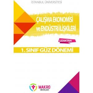 Auzef Çalışma Ekonomisi Ve Endüstri İlişkileri 1. Sınıf 1. Dönem (Güz Dönemi) Ders Kitapları