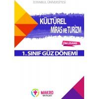 Auzef Kültürel Miras Ve Turizm 1. Sınıf (Güz Dönemi) Ders Kitapları