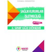 Auzef Sağlık Kurumları İşletmeciliği 2. Sınıf  (Güz Dönemi) Ders Kitapları