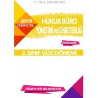 Auzef Hukuk Büro Yönetimi Ve Sekreterliği 2. Sınıf (Güz Dönemi) Ders Kitapları