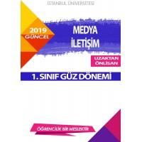 Auzef  (uzaktan ön lisans ) Medya ve İletişim  1. Sınıf (Güz Dönemi) Ders Kitapları