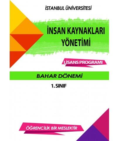 Auzef  insan Kaynakları Yönetimi 1. Sınıf (bahar Dönemi) Ders Kitapları