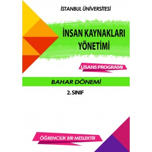 Auzef  insan Kaynakları Yönetimi 2. Sınıf (bahar Dönemi) Ders Kitapları