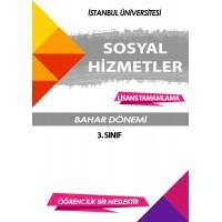 Auzef Sosyal Hizmet 3. Sınıf 6. Dönem (Bahar Dönemi) Ders Kitapları