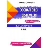 Auzef  (uzaktan ön lisans ) coğrafi bilgi sistemleri 1. Sınıf (Bahar Dönemi) Ders Kitapları