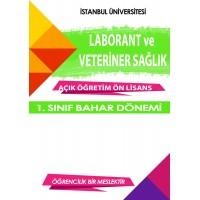 Auzef Laborant ve Veteriner Sağlık ön lisans 1. Sınıf  Bahar Dönemi