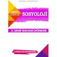 Auzef Sosyoloji 3. Sınıf 6. Dönem (Bahar Dönemi) Ders Kitapları (6 kitap set fiyatı)