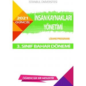Auzef  insan Kaynakları Yönetimi 3. Sınıf (Bahar Dönemi) Ders Kitapları