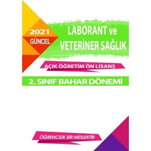 Auzef Laborant ve Veteriner Sağlık ön lisans 2. Sınıf  Bahar Dönemi