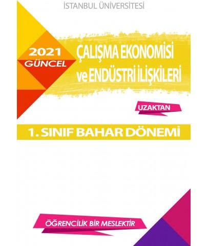 Auzef Çalışma Ekonomisi Ve Endüstri İlişkileri 1. Sınıf 2. Dönem (Bahar Dönemi) Ders Kitapları
