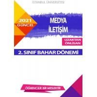 Auzef  (uzaktan ön lisans ) Medya ve İletişim  2. Sınıf (Bahar Dönemi) Ders Kitapları
