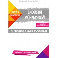 Auzef  ( uzaktan lisans tamamlama ) Endüstri Mühendisliği  2. Sınıf (Bahar Dönemi) Ders Kitapları