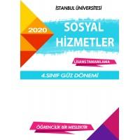 Auzef Sosyal Hizmet 4. Sınıf 7. Dönem (Güz Dönemi) Ders Kitapları