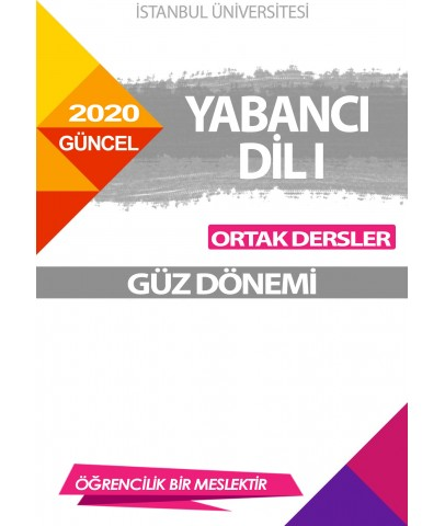 YABANCI DİL I