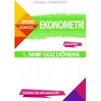 Auzef ekonometri 1. Sınıf 1. Dönem (Güz Dönemi) Ders Kitapları