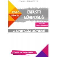 Auzef  ( uzaktan lisans tamamlama ) Endüstri Mühendisliği  2. Sınıf (Güz Dönemi) Ders Kitapları