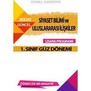 Auzef  Siyaset Bilimi Ve Uluslararası İlişkiler  1. Sınıf ( Güz Dönemi) Ders Kitapları