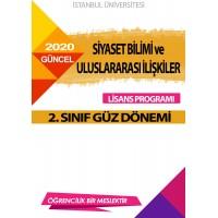 Auzef Siyaset Bilimi ve Uluslararası ilişkiler 2. Sınıf ( Güz Dönemi) Ders Kitapları
