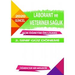 Auzef Laborant ve Veteriner Sağlık ön lisans 2. Sınıf  Güz Dönemi