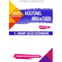 *Auzef Kültürel Miras ve Turizm 1. Sınıf (Ön Lisans) Güz Dönemi Ders Kitapları (SADECE 4 ANA DERS)