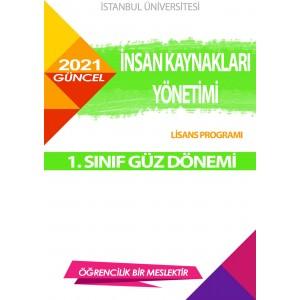 *Auzef  insan Kaynakları Yönetimi 1. Sınıf (Lisans) Güz Dönemi Ders Kitapları (SADECE 4 ANA DERS)