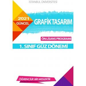 *Auzef Grafik Tasarım 1. Sınıf (Ön Lisans) Güz Dönemi (SADECE 4 ANA DERS)