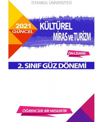 *Auzef Kültürel Miras ve Turizm 2. Sınıf (Ön Lisans) Güz Dönemi Ders Kitapları