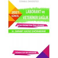 *Auzef Laborant ve Veteriner Sağlık 2. Sınıf  (Ön Lisans)  Güz Dönemi