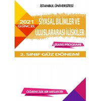 *Auzef  Siyaset Bilimi ve Uluslararası İlişkiler  2. Sınıf  (Lisans) Güz Dönemi Ders Kitapları