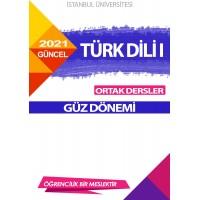 TÜRK DİLİ I (GÜZ DÖNEMİ)
