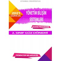 *Auzef  Yönetim Bilişim Sistemleri2. Sınıf  (Lisans) Güz Dönemi Ders Kitapları