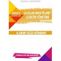 *Auzef  Uluslararası Ticaret ve Lojistik Yönetimi4. Sınıf (Lisans) Güz Dönemi Ders Kitapları