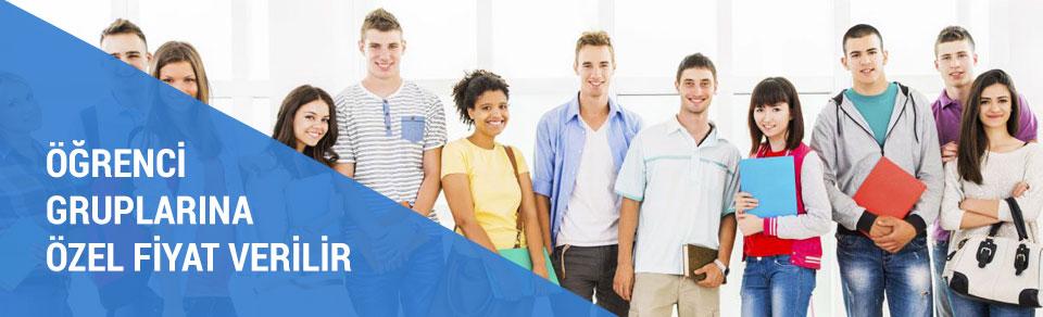 Öğrenci Gruplarına Özel Fiyat Verilir