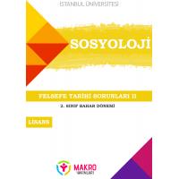 Sosyoloji 2. Sınıf 4. Dönem (Bahar Dönemi) Ders Kitapları