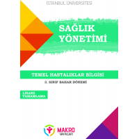 Sağlık Yönetimi 4. Sınıf 8. Dönem (Bahar Dönemi) Ders Kitapları